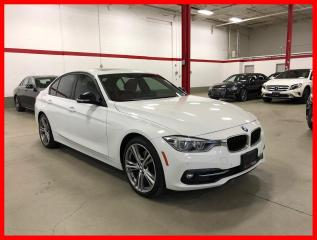 Used 2017 BMW 3 Series 330I xDrive SPORT PREMIUM ESSENTIAL RED INT! for sale in Vaughan, ON