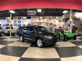 Used 2016 Volkswagen Tiguan 2.0TSI COMFORTLINE SPORT PKG AWD LEATHER PANO/ROOF CAMERA for sale in North York, ON