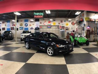 Used 2016 Audi A3 1.8T KOMFORT AUT0 LEATHER PANO/ROOF BACKUP CAMERA 59K for sale in North York, ON