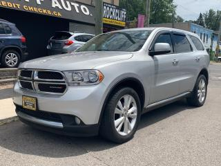 Used 2013 Dodge Durango 4WD 4dr SXT for sale in Scarborough, ON