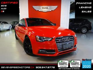 Used 2015 Audi S5 TECHNIK | S5 | CERTIFIED | FINANCE @ 4.65% for sale in Oakville, ON