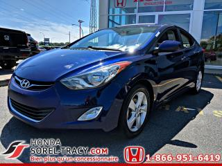 Used 2013 Hyundai Elantra Berline 4 portes, boîte manuelle, GLS *D for sale in Sorel-Tracy, QC