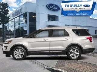 Used 2018 Ford Explorer Limited  - Sunroof -  Navigation for sale in Steinbach, MB