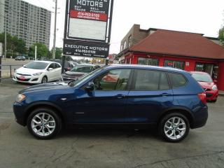 Used 2012 BMW X3 28i/ X DRIVE / ONE OWNER / NO ACCIDENT / CERTIFIED for sale in Scarborough, ON