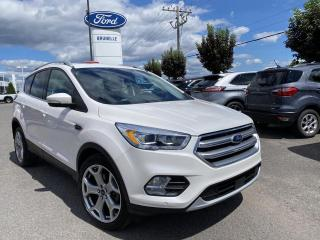 Used 2017 Ford Escape Titanium AWD GPS TOIT for sale in St-Eustache, QC
