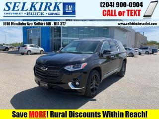 New 2020 Chevrolet Traverse Premier  - Sunroof - Navigation for sale in Selkirk, MB