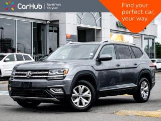 Used 2018 Volkswagen Atlas Highline Panoramic Sunroof Navigation Apple CarPlay 7 Seater 4 Heated Seats for sale in Thornhill, ON