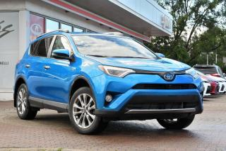 Used 2016 Toyota RAV4 Hybrid Limited HYBRID +GPS for sale in Pointe-Claire, QC