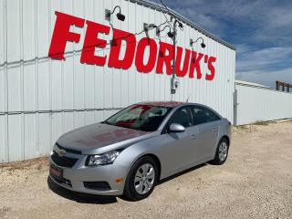 Used 2013 Chevrolet Cruze LT Turbo for sale in Headingley, MB
