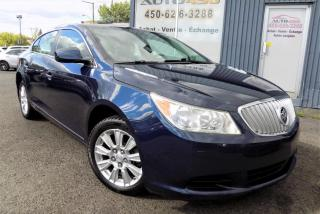 Used 2010 Buick LaCrosse **CX,BAS KILO,AUCUN ACCIDENT,A/C** for sale in Longueuil, QC