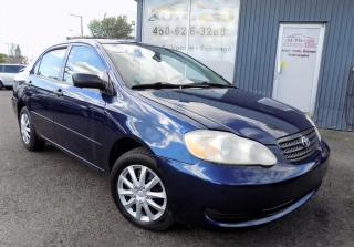 Used 2006 Toyota Corolla ***CE,SPORT,AUTOMATIQUE,A/C*** for sale in Longueuil, QC