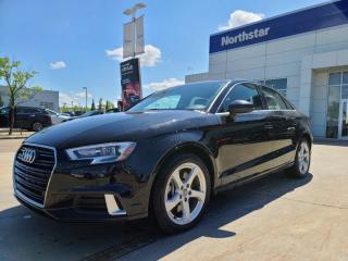 Used 2019 Audi A3 Sedan KOMFORTPLUS/AWD/LEATHER/SUNROOF for sale in Edmonton, AB