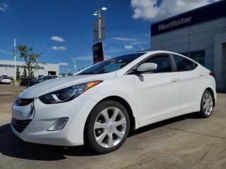 Used 2013 Hyundai Elantra LTD NAV/LEATHER/SUNROOF/HEATEDSEATS/BACKUPCAM for sale in Edmonton, AB