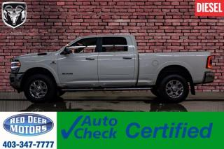 Used 2019 RAM 3500 4x4 Crew Cab Laramie Diesel Leather Nav for sale in Red Deer, AB