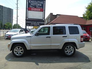 Used 2008 Jeep Liberty LIMITED / 4X4/ LEATHER / ROOF / MINT / A/C / SHARP for sale in Scarborough, ON