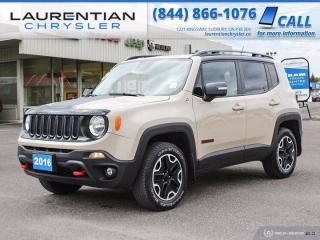 Used 2016 Jeep Renegade Trailhawk!!  4WD!!  NAVIGATION!! for sale in Sudbury, ON