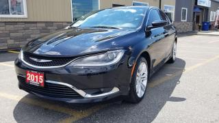 Used 2015 Chrysler 200 Limited-3.2LV6-REAR CAMERA-REMOTE START-HTD SEATS for sale in Tilbury, ON