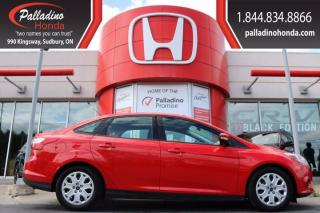Used 2014 Ford Focus SE-CERTIFIED-FUEL SAVER-LOW KM for sale in Sudbury, ON