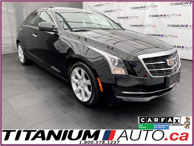 2016 Cadillac ATS AWD+Camera+Apple Play+2.0L Turbo+Remote Start+XM