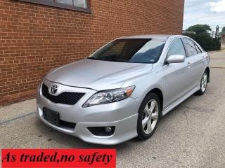 Used 2010 Toyota Camry 4 Cylinder /SE /  PRICE IS FIRM for sale in Oakville, ON