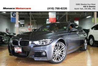 Used 2016 BMW 3 Series 340i xDrive - M PKG SUNROOF NAVI BACKUP for sale in North York, ON