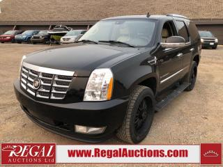 Used 2008 Cadillac Escalade ESV 4D Utility 4WD for sale in Calgary, AB