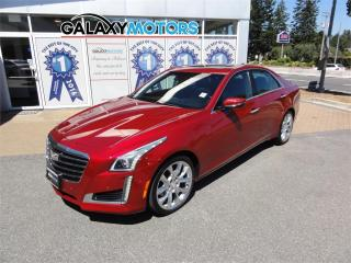 Used 2017 Cadillac CTS Sedan PREMIUM LUXURY AWD - Nav, Leather, Sunroof for sale in Nanaimo, BC