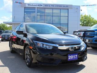 Used 2017 Honda Civic LX ONE OWNER   RARE FIND   BACK UP CAM for sale in Winnipeg, MB