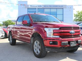 Used 2019 Ford F-150 LARIAT FULLY LOADED 502A   CLEAN CARFAX   1 OWNER for sale in Winnipeg, MB