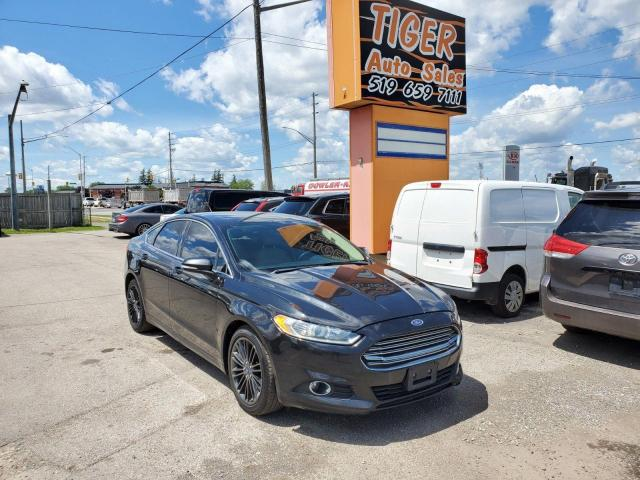 2013 Ford Fusion SE**LEATHER**NAVI**LOADED**CERTIFIED