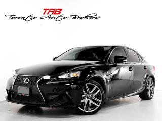 Used 2016 Lexus IS 300 300 I F-SPORT I RED LEATHR I NAVI I CLEAN CARFAX for sale in Vaughan, ON