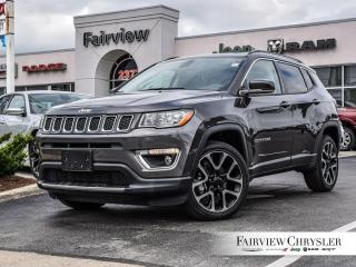 Used 2019 Jeep Compass Limited   NAV   SUNROOF   4X4 for sale in Burlington, ON