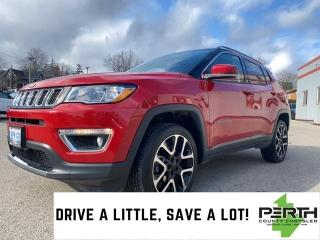 Used 2019 Jeep Compass Limited   Leather Trimmed Seats   Navigation   8.4 for sale in Mitchell, ON