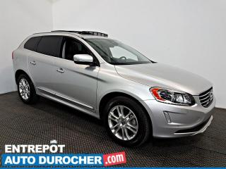 Used 2015 Volvo XC60 T5 Drive-E Premier Plus TOIT OUVRANT - A/C - Cuir for sale in Laval, QC