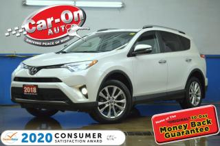Used 2018 Toyota RAV4 Limited AWD LEATHER NAV SUNROOF REAR CAM ADAPTIVE for sale in Ottawa, ON