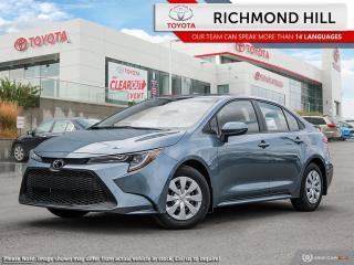 New 2020 Toyota Corolla Corolla L CVT for sale in Richmond Hill, ON