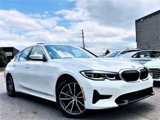 Used 2019 BMW 3 Series 330i XDRIVE SUNROOF HEATED MEMORY SEATS NAVI REAR CAM! for sale in Brampton, ON