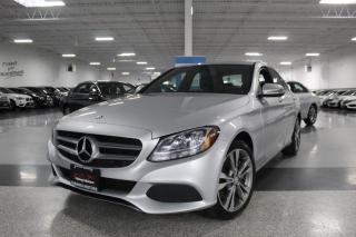Used 2016 Mercedes-Benz C-Class C300 4MATIC NO ACCIDENTS I LEATHER I HEATED SEATS I BT for sale in Mississauga, ON