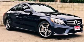 Used 2016 Mercedes-Benz C-Class 4dr Sdn C300 4MATIC for sale in Concord, ON