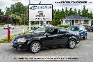 Used 2013 Dodge Avenger 4-Cylinder, Only 99k, Local, No Declarations, Alloy Wheels for sale in Surrey, BC
