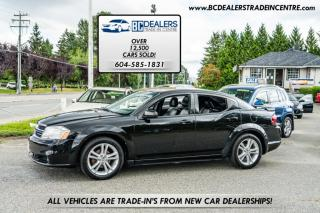 Used 2011 Dodge Avenger SXT with Leather, Sunroof, Navigation, Bluetooth, LOADED! for sale in Surrey, BC