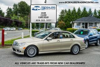 Used 2010 Mercedes-Benz C-Class 2.5L 4MATIC AWD, Only 96k, Local, Leather, Heated Seats! for sale in Surrey, BC