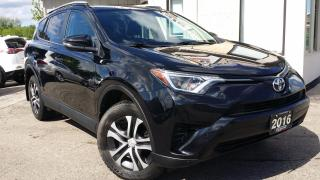Used 2016 Toyota RAV4 LE FWD -BACK-UP CAM! HEATED SEATS! ACCIDENT FREE! for sale in Kitchener, ON
