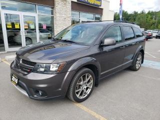 Used 2016 Dodge Journey R/T Rallye AWD V6 Nav Backup Cam Roof Leather for sale in Trenton, ON