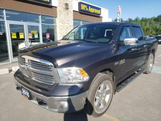Used 2015 RAM 1500 SLT Crew Cab 4x4 Backup Cam Tonneau Cover Sunroof for sale in Trenton, ON