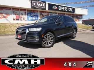 Used 2017 Audi Q7 3.0T quattro Technik  PANO LANE-KEEP ADAP-CC HS NAV for sale in St. Catharines, ON