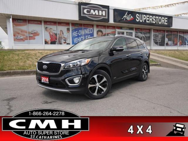 2016 Kia Sorento 2.0L Turbo EX  AWD LEATH CAM BS P/SEAT HS