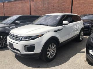 Used 2017 Land Rover Evoque SE AWD, NAV, PANO, CAM, HEATED SEATS, PWR TAILGATE for sale in Toronto, ON