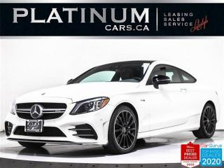 Used 2019 Mercedes-Benz C-Class AMG C43 4MATIC, 385HP, NAV, 360, PANO, HEATED SEAT for sale in Toronto, ON