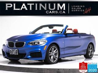 Used 2017 BMW 2-Series M240i xDrive, CONVERTIBLE, NAV, M-SPORT, CAM, BT for sale in Toronto, ON